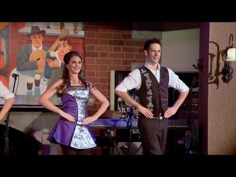 Raglan Road live Irish dancers and music at Walt Disney World Downt