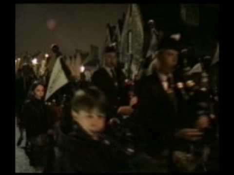 1,000 Pipers at Millennium Edinburgh's Hogmanay