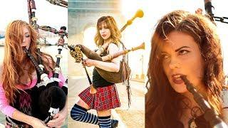 Goddesses of Bagpipe - Shipping Up To Boston/Enter Sandman - Bagpipe Cover (Goddesses of Bagpipe x T