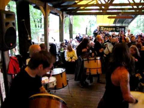 Albannach - Hornpipes (Maryland Renaissance Festival 18/10/2009)