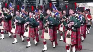 The Black Watch parade the Royal Mile Edinburgh [4K]
