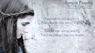 Claudie Mackula - Fantasy Celtic Music ~ Song of Passing (With Lyrics)