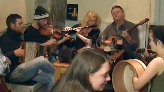 Irish Music Session Clip on The Wild Atlantic Way from Joe McHugh's Pub, Liscannor, Co. Clare