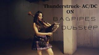 The Snake Charmer - Thunderstruck AC/DC - Dubstep Bagpipes | Naagin Song | The Snake Charmer