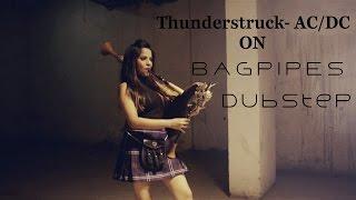 The Snake Charmer - Thunderstruck AC/DC - Dubstep Bagpipes | Naagin Song | The Snake Charmer