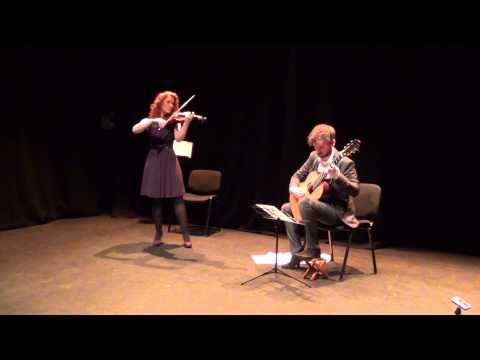 John O'Shea - John O'Shea and Anna Jane Ryan playing 'Pastoral'