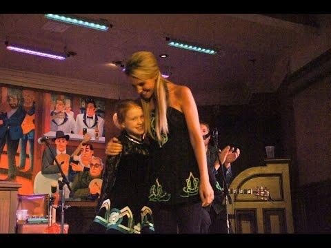 Disney - Girl's dancing dream come true at Walt Disney World's Raglan Road Irish Pub