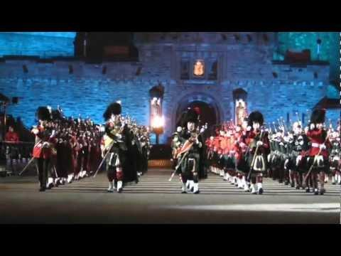 Royal Edinburgh Military Tattoo - Massed Pipes and Drums, Royal Edinburgh Military Tattoo 2012