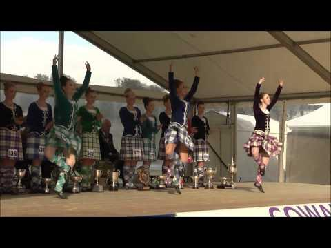 Cowal Highland Gathering - Cowal Highland Gathering 2014 - World Highland Dancing Champions