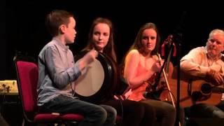 The Maguires - Bodhrán Solo, Birr Theatre, Jan 2016