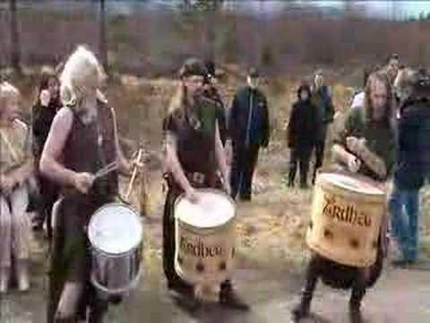 Clann An Drumma - Culloden (Scottish tribal drumming and bagpipes)