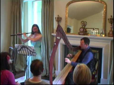 Karin Leitner - Karin Leitner & Cormac de Barra play the Monaghan Jig in Woodford House, Dublin