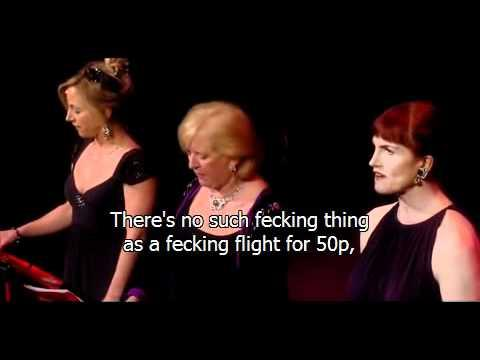 fascinating aida - cheap flight with subtitles