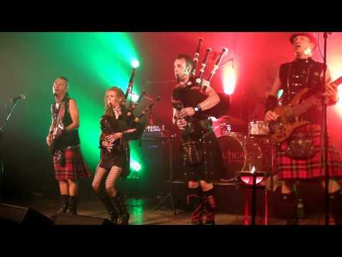 Celtica - Scottish Raggae The Lion sleeps tonight Highland Games Fehraltorf 2011 CH