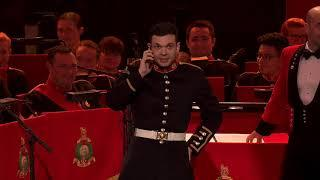 The Bands of HM Royal Marines - Pipe Dream | Funny Percussion Duet |