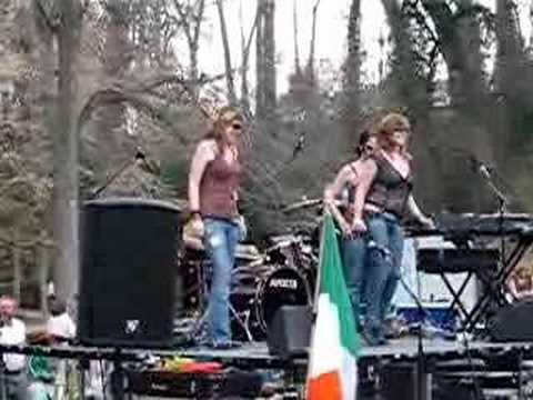 Irish Rock Band Searson in Greenville Step Dance
