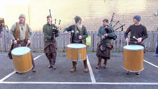 "Clanadonia - Special ""Scotland The Brave"" mix by Scottish tribal band Clanadonia for St Andrews Day"