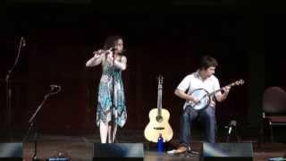 Freya Rae & Louis Bingham - Freya Rae's Recital. Jig Set.