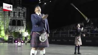 Sankt Galler - We will rock you: bagpipe, band & drummajors  @ Sankt Galler Tattoo 2016