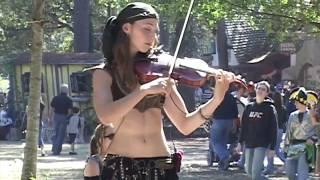 The Hot Violinist - (Origin Video)
