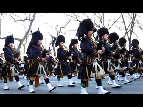 NYC St. Patrick's Day Parade - Bagpipers - NYC St. Patrick's Day Parade March 17th