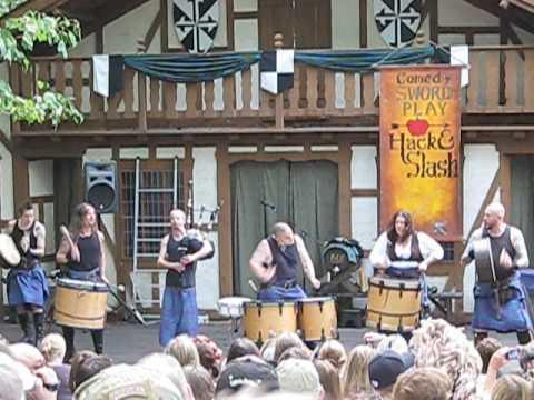 Albannach - Burlin (Maryland Renaissance Festival 27/09/2009)